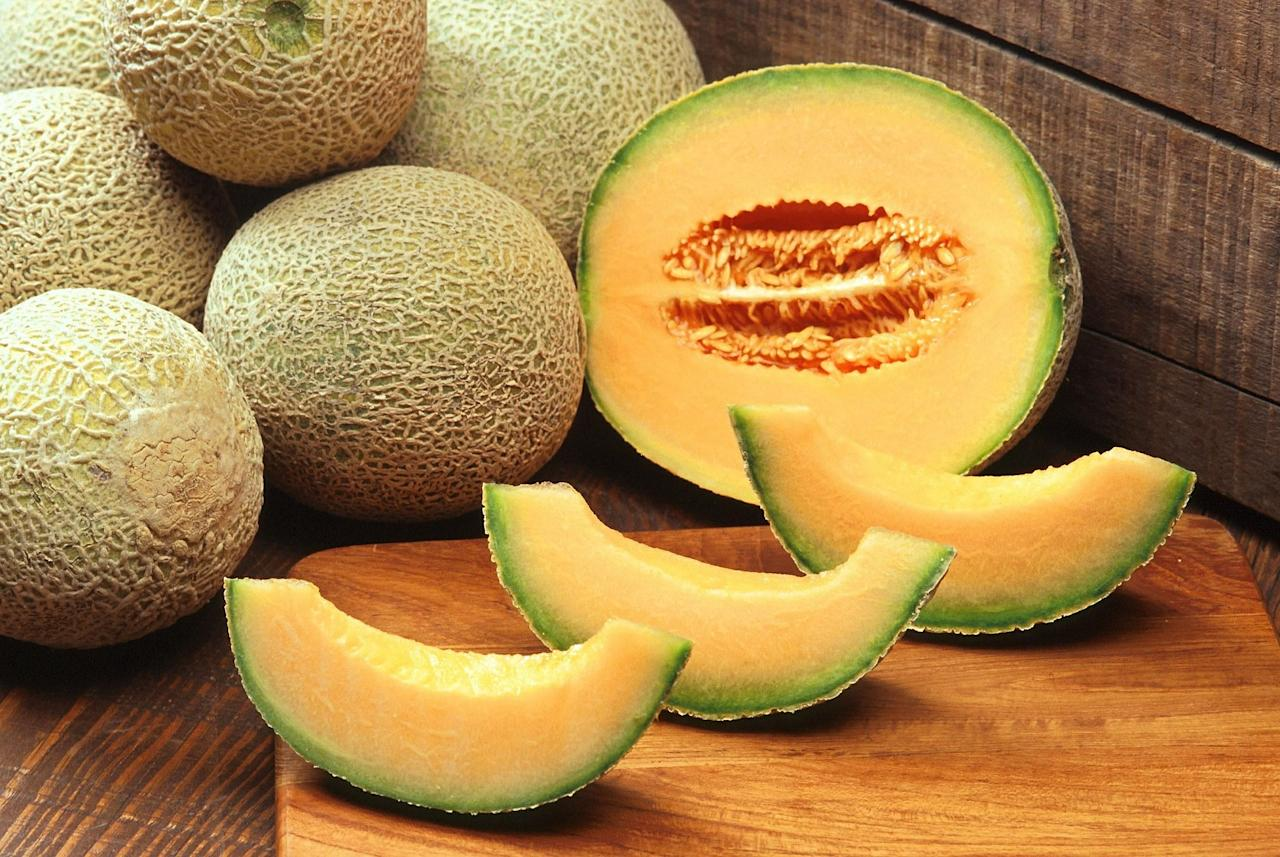<p>This succulent melon provides a big nutritional payoff for very few calories. One six-ounce serving—about one-quarter of a melon—contains just 50 calories but delivers a full 100% of your recommended daily intake of vitamins A and C. Have it for dessert if you have a sweet tooth. </p>