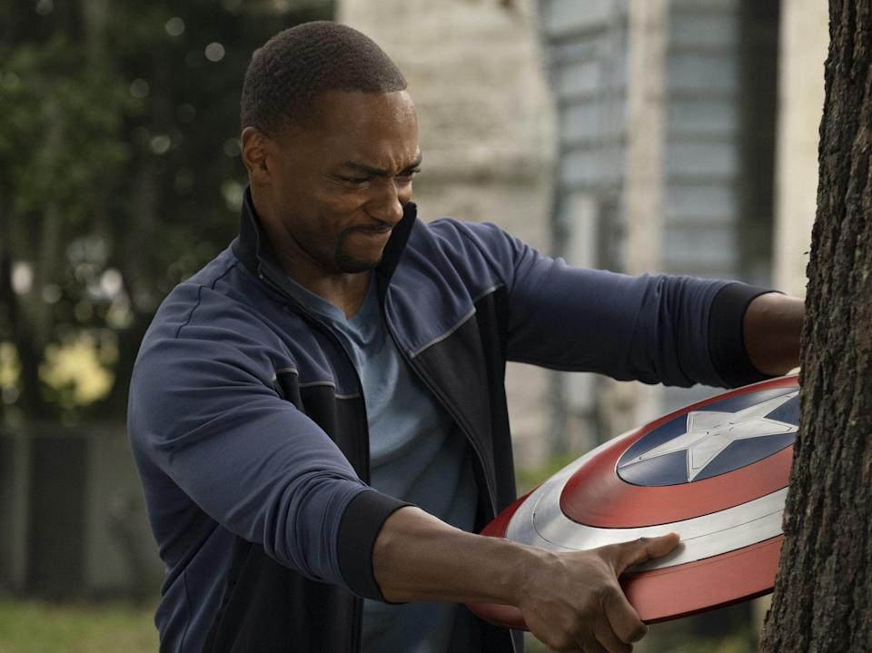 Anthony Mackie in The Falcon and the Winter Soldier (Disney Plus)