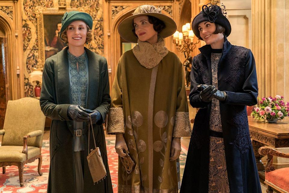 """<p>If someone in your life counted down the days until <a href=""""https://www.townandcountrymag.com/leisure/arts-and-culture/a22139335/downton-abbey-movie-news/"""" rel=""""nofollow noopener"""" target=""""_blank"""" data-ylk=""""slk:the Downton Abbey film"""" class=""""link rapid-noclick-resp"""">the <em>Downton Abbey</em> film</a> premiered, and has <a href=""""https://www.townandcountrymag.com/leisure/arts-and-culture/a22224870/where-to-watch-stream-downton-abbey/"""" rel=""""nofollow noopener"""" target=""""_blank"""" data-ylk=""""slk:watched the Masterpiece PBS series"""" class=""""link rapid-noclick-resp"""">watched the Masterpiece PBS series</a> multiple times through, this is the gift guide for you. Read on for ideas like a cookbook, a t-shirt for the most avid enthusiast, and even a book about the lost legacy of <a href=""""https://www.townandcountrymag.com/leisure/travel-guide/a28637143/real-life-downton-abbey-highclere-castle-travel-guide/"""" rel=""""nofollow noopener"""" target=""""_blank"""" data-ylk=""""slk:the real-life Downton Abbey, Highclere Castle"""" class=""""link rapid-noclick-resp"""">the real-life Downton Abbey, Highclere Castle</a>.</p>"""
