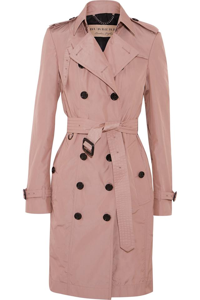 <p>A classic trench coat is a must-have. We're obsessed with Burberry's traditional designs, and would never regret purchasing this beauty, which is currently on sale.</p>