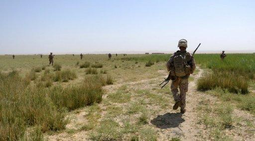 Three American soldiers were killed when a man in an Afghan uniform turned his weapon against them