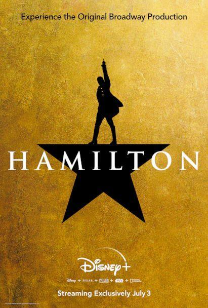 PHOTO: The filmed version of the original Broadway production of 'Hamilton' will premiere on Disney+ on July 3, 2020. (Disney)