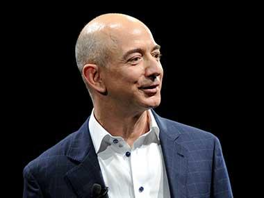 Amazon founder Jeff Bezos arrives in India for three-day visit, pays floral tributes to Mahatma Gandhi at Delhi's Rajghat