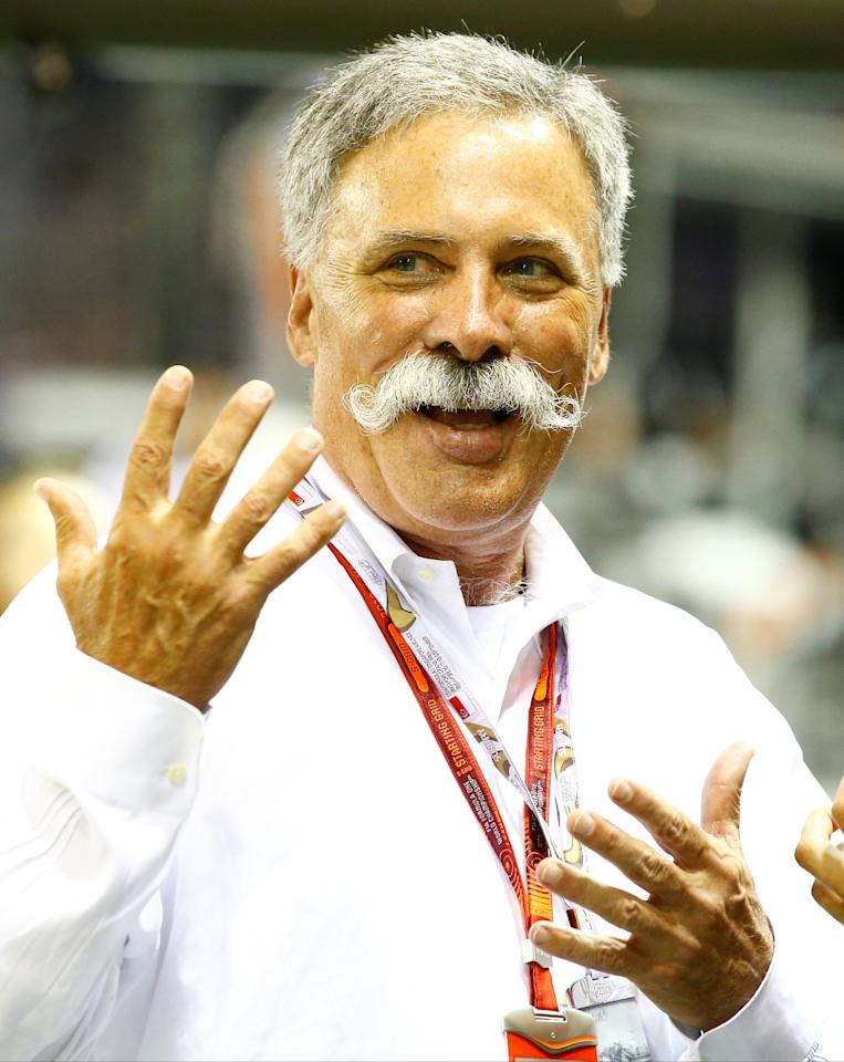 Formula One - F1 - Singapore Grand Prix - Marina Bay, Singapore- 18/9/16 Chase Carey Chairman of the Formula One Group before the race. REUTERS/Jeremy Lee