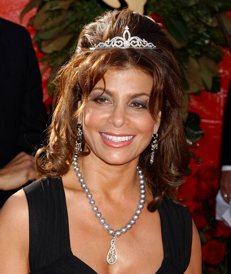 Paula Abdul during The 56th Annual Primetime Emmy Awards - Arrivals at The Shrine Auditorium in Los Angeles, California, United States. (Photo by Gregg DeGuire/WireImage)