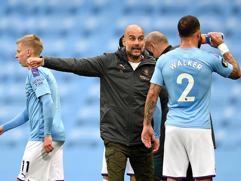 Manchester City manager Pep Guardiola: Getty Images