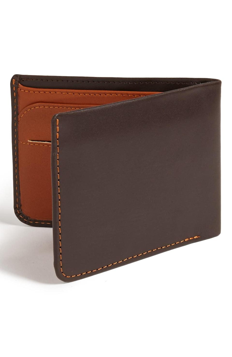 "<p>How gorgeous is this <span>Bellroy ""Hide and Seek"" Wallet</span> ($90)?</p>"
