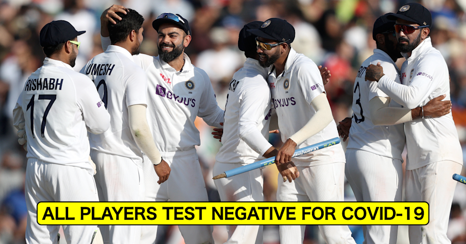 England vs India, 2021: All Indian Players Test Negative For Covid-19 Ahead Of 5th Test In Manchester