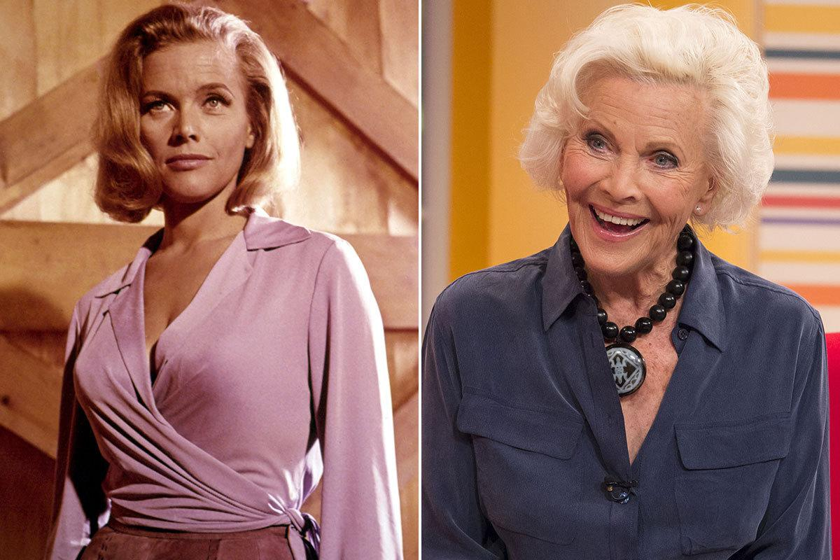 Honor Blackman - Pussy Galore in 'Goldfinger' (1964) Honor appeared in BBC drama 'By Any Means', and an episode of 'Casualty' in 2013. She's also a political activist (Credit: Rex)