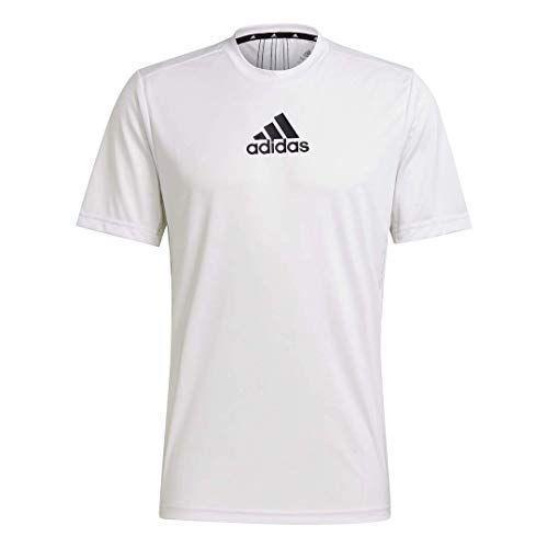 """<p><strong>adidas</strong></p><p>amazon.com</p><p><a href=""""https://www.amazon.com/dp/B08DWJ9TZQ?tag=syn-yahoo-20&ascsubtag=%5Bartid%7C10054.g.36791822%5Bsrc%7Cyahoo-us"""" rel=""""nofollow noopener"""" target=""""_blank"""" data-ylk=""""slk:BUY IT HERE"""" class=""""link rapid-noclick-resp"""">BUY IT HERE</a></p><p><del>$25.00</del><strong><br>$17.50</strong></p><p>This tee's moisture-wicking material will help you keep your cool during that particularly grueling (and sweaty!) workout.</p>"""