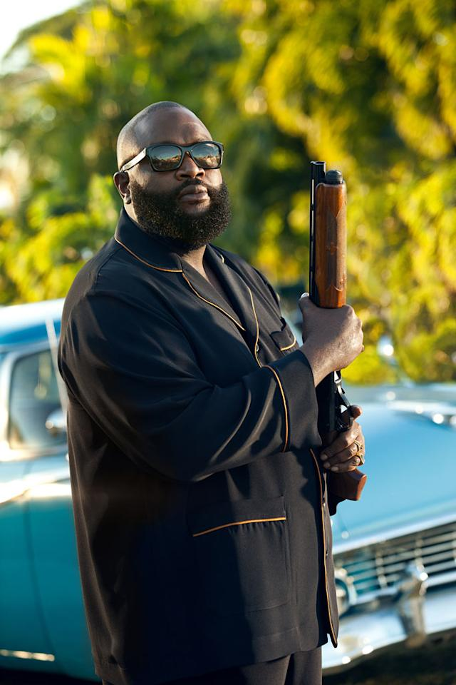 "Rick Ross as Butterball in ""Magic City"" Season 2."