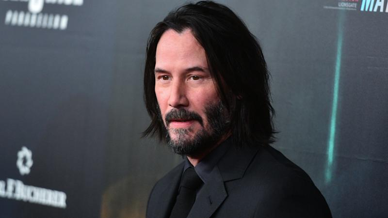 'YOU'RE BREATHTAKING!' Keanu Reeves surprises fan by signing yard sign