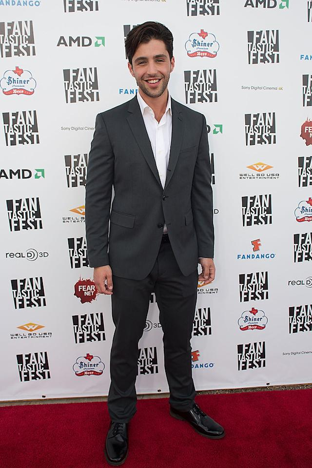 """Josh Peck at the Fantastic Fest premiere of """"Red Dawn"""" on Septemeber 27, 2012."""