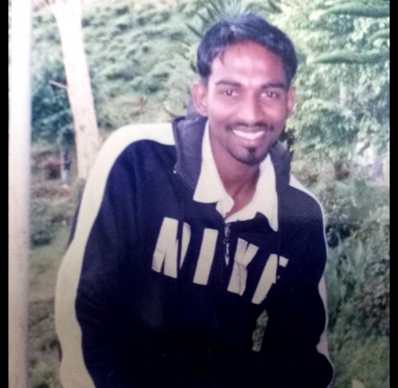 Pannir Selvam Pranthanam, who is seen here in Cameron Highlands at the age of 23, is 32 years old this year. — Picture courtesy of Pannir Selvam's family