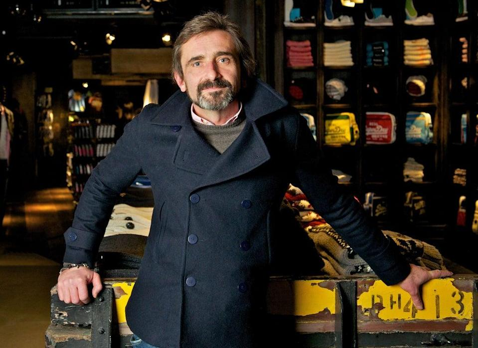 Superdry chief executive Julian Dunkerton said trading has been 'encouraging' since shops reopened (Superdry/PA) (PA Media)