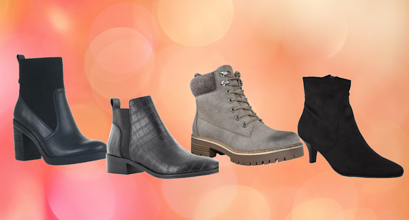 DSW's fall bootie sale is on now.