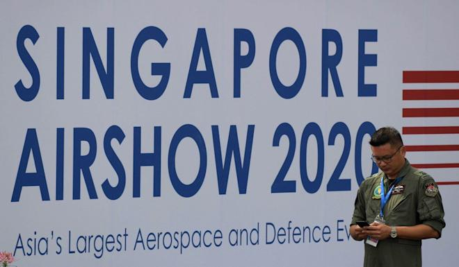 The air show in Singapore begins on Tuesday and runs through Sunday. Photo: AFP