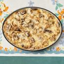 """<p>Love French onion soup? This creamy casserole is as cozy as a cup of your favorite soup, with baguette slices and buttery mushrooms included.</p><p><strong><a href=""""https://www.thepioneerwoman.com/food-cooking/recipes/a34417047/french-onion-chicken-casserole/"""" rel=""""nofollow noopener"""" target=""""_blank"""" data-ylk=""""slk:Get the recipe."""" class=""""link rapid-noclick-resp"""">Get the recipe.</a></strong> </p>"""