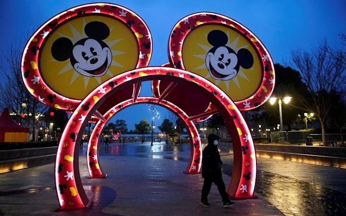 Beijing has closed many tourist attractions, such as Disneyland in Shanghai. More than 41 people have died since the outbreak - REUTERS