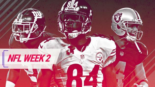 Nfl scores week 2 results highlights for each game publicscrutiny Gallery