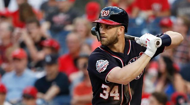 MLB Rumors: Bryce Harper Not Considering Short-Term Deals in Free Agency