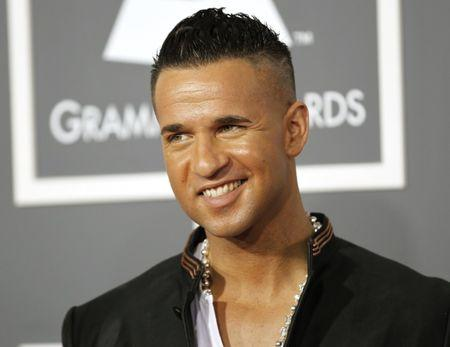 "Michael ""The Situation"" Sorrentino arrives at the 53rd annual Grammy Awards in Los Angeles"