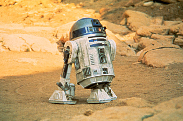 R2-D2's capture by the Jawas was filmed in Death Valley National Park. (Photo: Everett Collection)