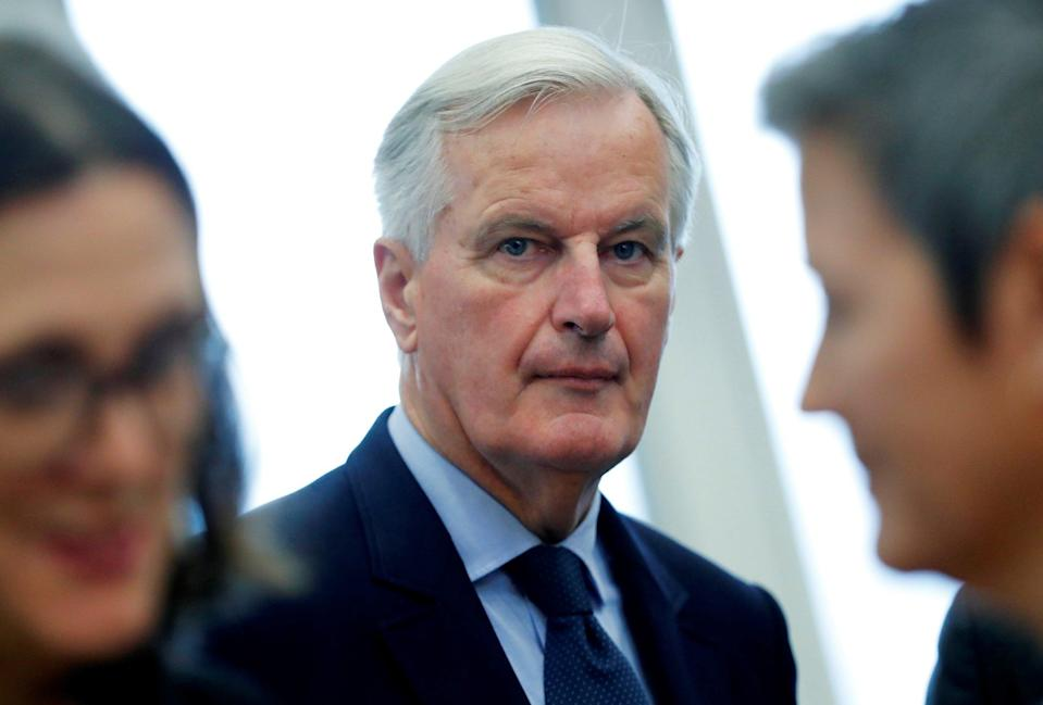 Michel Barnier has suggested the UK should pursue a softer Brexit