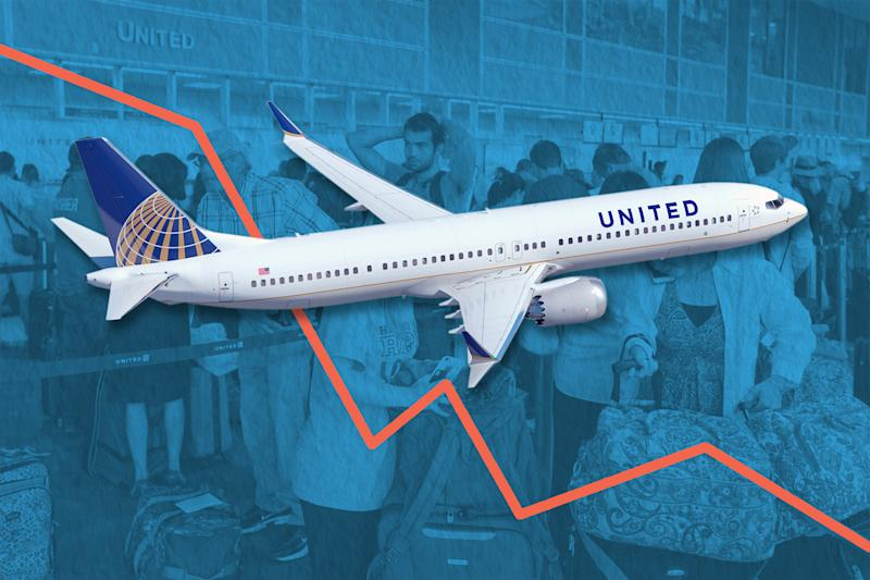 Here's How Much United Airlines Stock Tanked This Week