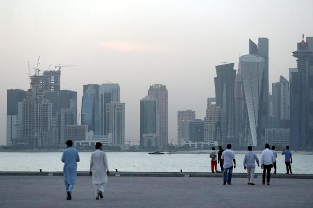 "Homosexuality is illegal in Qatar, with some gay visitors describing the country as ""challenging"" (AFP Photo/STR)"