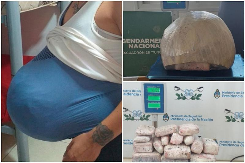 'Pregnant' Woman Caught Smuggling 4 kg Cannabis Inside Fake Baby Bump in Argentina