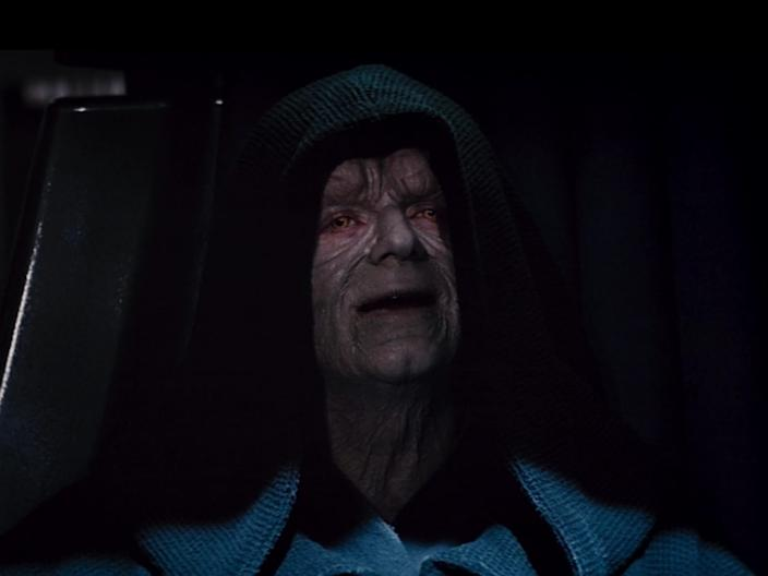 star wars return of the jedi palpatine