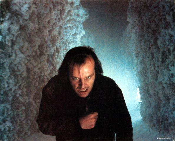 """<p>At the film's end, there is a chase through the snowy hedge maze. It makes for incredible cinema, paired with the terrifying lighting, music and movement of the scene. But as real as it appeared, and as cold as it feels to watch it, the """"snow"""" was actually created from 900 tons of <a href=""""https://www.screendaily.com/elstree-unearths-snow-from-the-shining/5070531.article"""" rel=""""nofollow noopener"""" target=""""_blank"""" data-ylk=""""slk:salt and crushed styrofoam."""" class=""""link rapid-noclick-resp"""">salt and crushed styrofoam.</a></p>"""