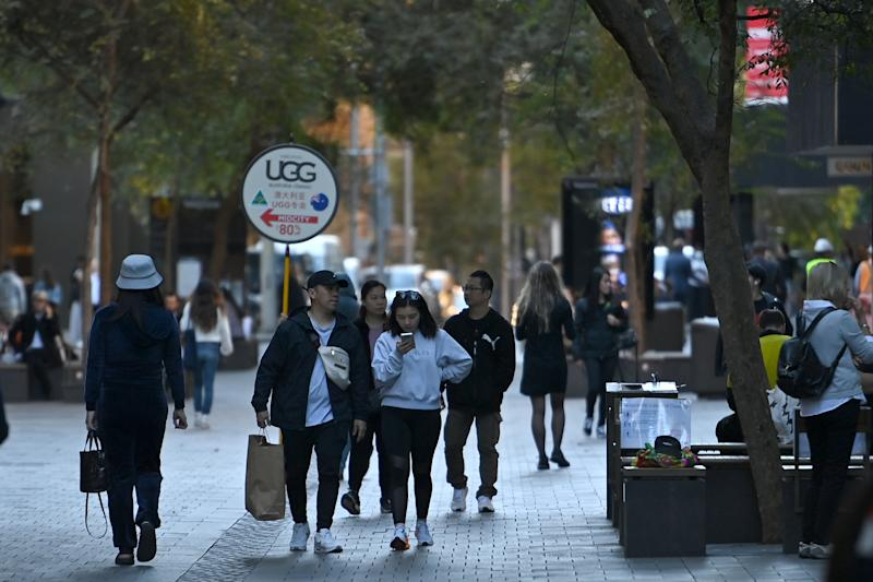 China has warned students not to travel to Australia as relations between the two nations deteriorate further. Source: AAP