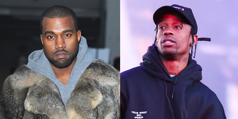 8ad70b7fabb3 Good Morning, Kanye West Just SLAMMED Travis Scott on Twitter