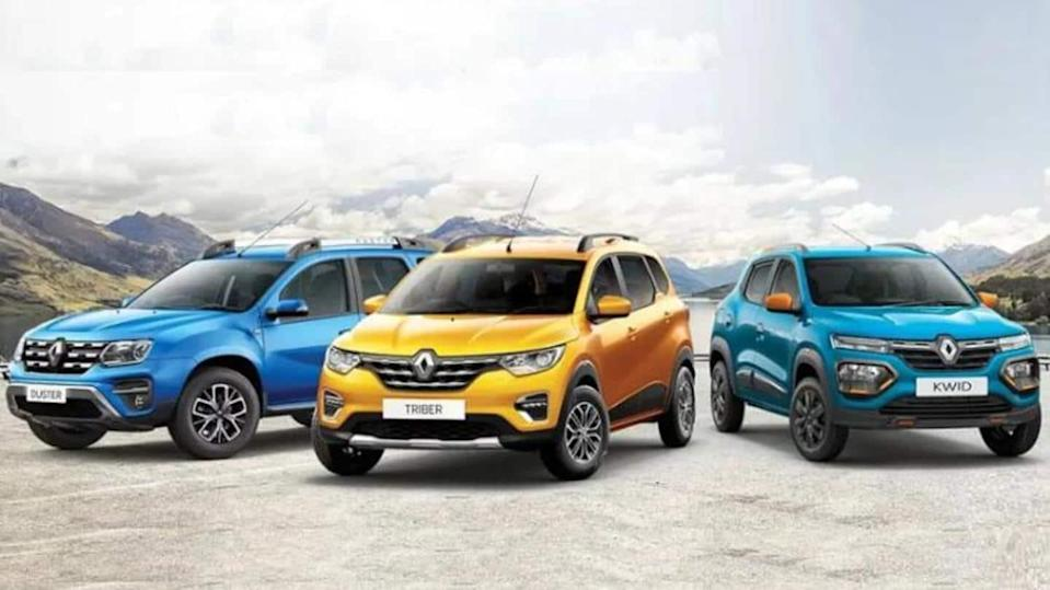 Benefits worth Rs. 75,000 on BS6 Renault cars this month