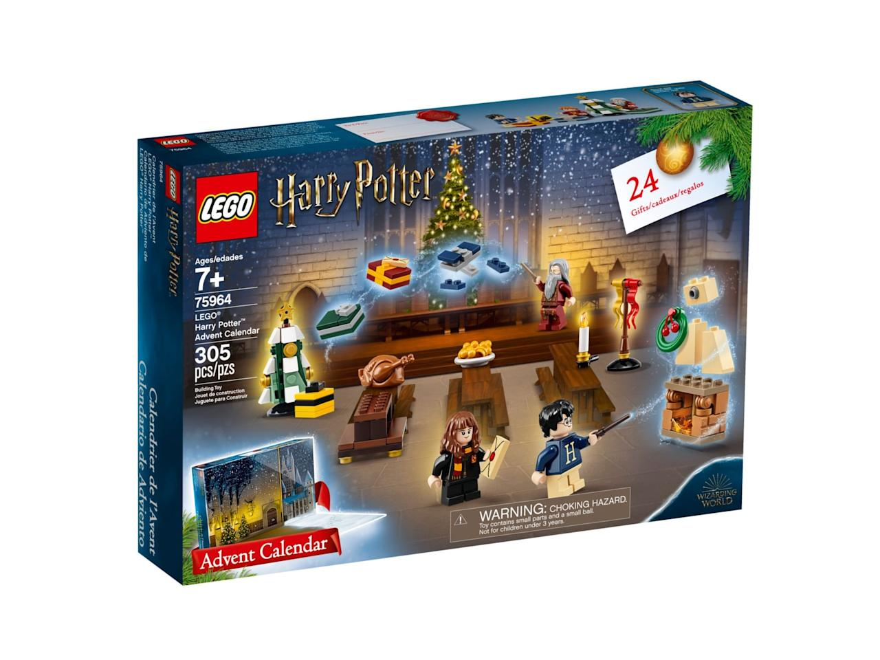"<p><a href=""https://www.popsugar.com/buy/Lego-Harry-Potter-Advent-Calendar-487631?p_name=Lego%20Harry%20Potter%20Advent%20Calendar&retailer=lego.com&pid=487631&price=40&evar1=moms%3Aus&evar9=46579350&evar98=https%3A%2F%2Fwww.popsugar.com%2Fphoto-gallery%2F46579350%2Fimage%2F46579351%2FLego-Harry-Potter-Advent-Calendar&list1=gift%20guide%2Cstar%20wars%2Charry%20potter%2Clego%2Cparenting%20gift%20guide%2Cadvent%20calendars%2Ckid%20shopping&prop13=api&pdata=1"" rel=""nofollow"" data-shoppable-link=""1"" target=""_blank"" class=""ga-track"" data-ga-category=""Related"" data-ga-label=""https://www.lego.com/en-us/product/lego-harry-potter-advent-calendar-75964"" data-ga-action=""In-Line Links"">Lego Harry Potter Advent Calendar</a> ($40)</p>"