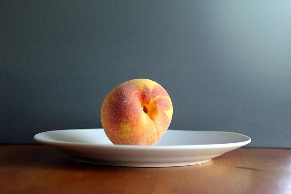 <p>With your fruit, that is! Stone fruits like nectarines, plums, peaches, and cherries have anti-inflammatory properties that could help you lose weight. Registered dietitian Cynthia Sass recommends eating the fruit on its own in a raw, natural state. </p>