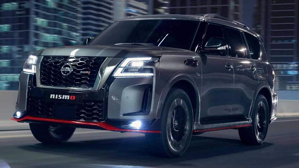 Nissan Patrol NISMO SUV, with a 428hp V8 engine, unveiled