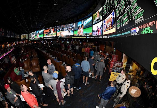 Some big money is flowing through casinos toward the Super Bowl. (Getty)