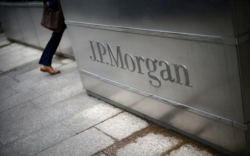 JP Morgan has warned it could ultimately move up to 4,000 of its 16,000 UK staff over Brexit - REUTERS