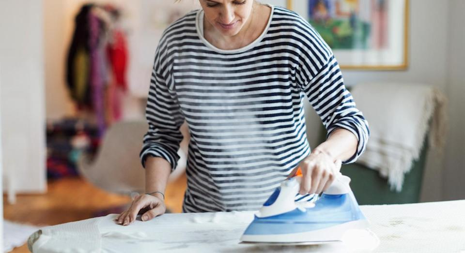 New research suggests that even light activity, like housework, can keep your brain young. [Photo: Getty]