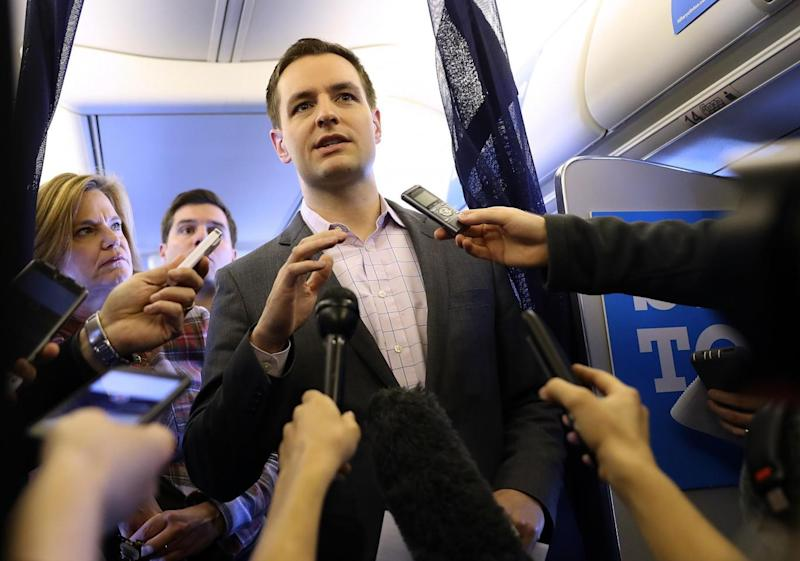 Clinton campaign chief Robby Mook Getty