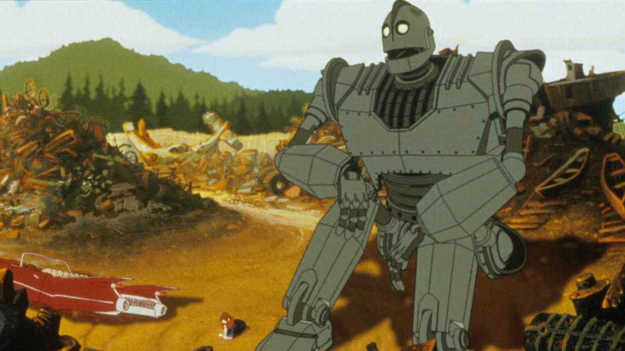 Vin Diesel voices the title character in beloved animation 'The Iron Giant'. (Warner Bros)