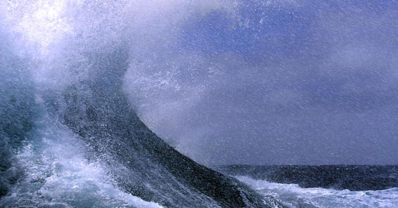 Wipeout! Huge 19 meter high wave sets new record