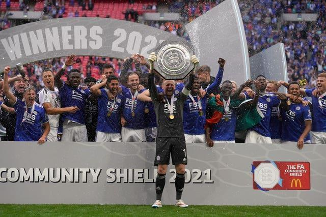 Leicester clinched the trophy at the death