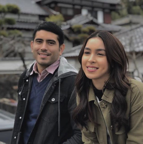 The couple worked on romance drama 'Between Maybes' in 2019