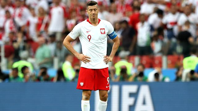 Robert Lewandowski expects improvement from Poland after they opened their World Cup with a loss to Senegal.