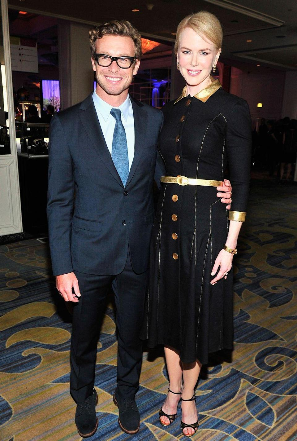 <p>The Aussie pair are extremely close, and Kidman serves as a godmother to his children as well.</p>