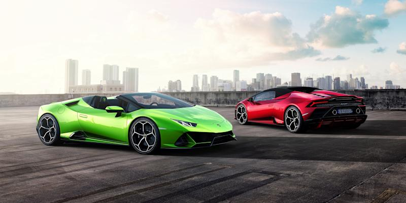 Lamborghini Huracan Evo Spyder Offers Open Air Fun And 202 Mph